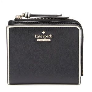 New Kate Spade ♠️ small Bi-fold zip wallet